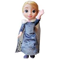 玩具反斗城 爱莎公主唱歌娃娃 迪士尼仿真玩偶女孩益智互动 51157