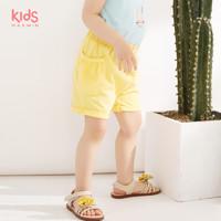 maxwin马威女小童18个月-4岁女童针织短裤夏季外穿182347121