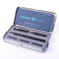 Schneider 施耐德 Smart 钢笔+宝珠笔 双笔头铁盒装 赠字帖+1盒墨囊